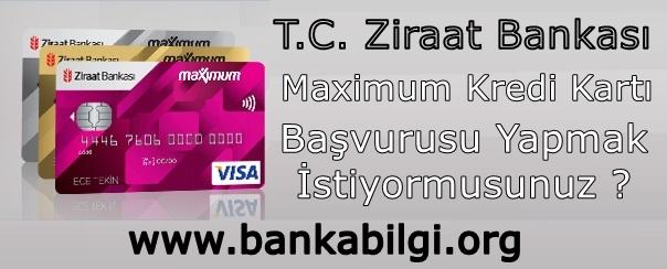 Ziraat Bankası Maximum Kredi Kartı