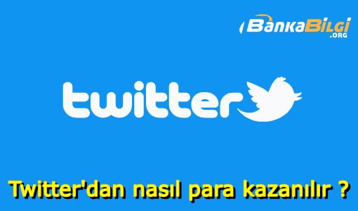 Twitter Para Kazanma Yolları
