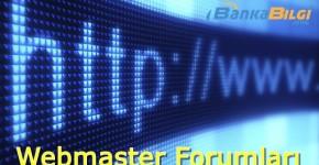 Para kazanabileceğiniz webmaster forumları