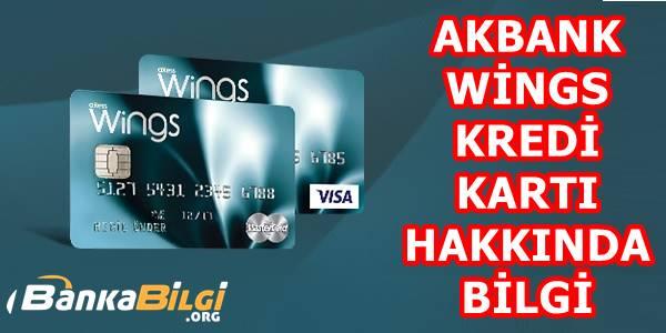 Akbank Wings Kredi Kartı Başvurusu