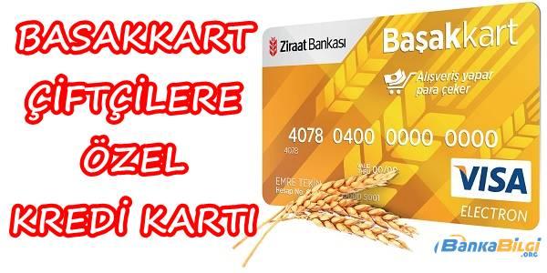 Ziraat Bankası Başakkart Kredi Kartı Başvurusu
