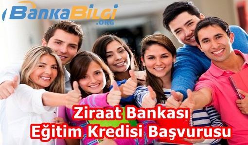 ziraat bankası eğitim kredisi başvurusu www.bankabilgi.org