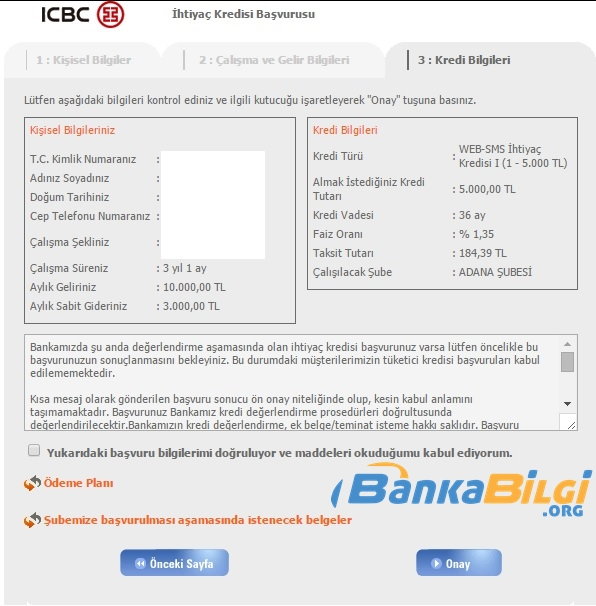 Tekstilbank İnternetten Kredi Başvurusu www.bankabilgi.org