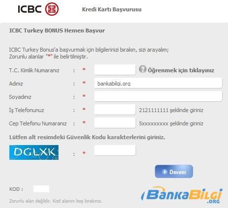 Tekstilbank Bonus Card Kredi Kartı Başvurusu