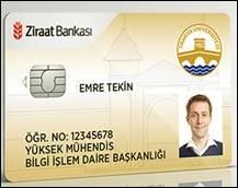 Ziraat Bankası Kampüs Kart Örneği