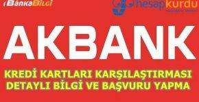 Hesapkurdu Akbank Kredi Kartı Karşılaştıması
