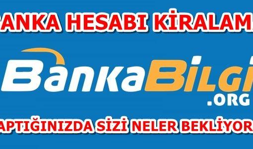 Banka Hesabı Kiralama Hayatınızı Karartabilir !