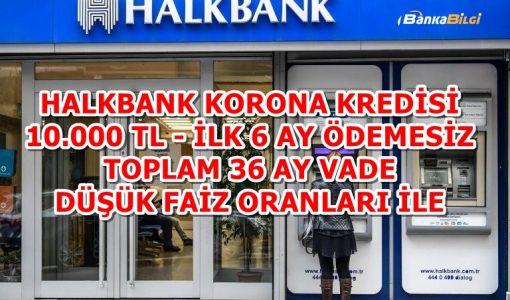 Halkbank Korona Kredisi